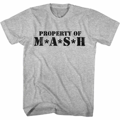 MASH Shirt Property Of Mash Athletic Heather T-Shirt