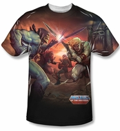 Masters Of The Universe Battle Sublimation Shirt
