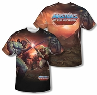 Masters Of The Universe Battle Sublimation Shirt Front/Back Print