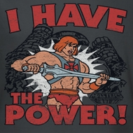 Masters Of The Universe I Have The Power Shirts