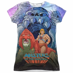 Masters Of The Universe Protecting Grayskull Sublimation Juniors Shirt