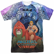 Masters Of The Universe Protecting Grayskull Sublimation Shirt