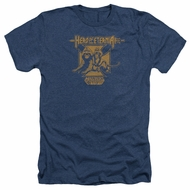 Masters Of The Universe Shirt Hero Of Eternia Adult Heather Navy Tee T-Shirt