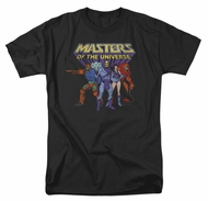Masters Of The Universe Shirt Team Of Villains Adult Navy Tee T-Shirt