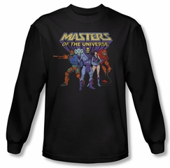 Masters Of The Universe Shirt Team Of Villains Long Sleeve Navy Tee