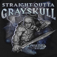 Masters Of The Universe Straight Outta Grayskull Shirts