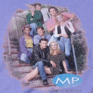 Melrose Place Cast Distressed Shirts