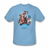 Melrose Place Shirt Cast Light Blue T-Shirt