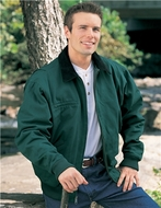 Men's 100% Cotton Sequoia Jacket With A Corduroy Collar