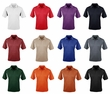 Men's Tall Sizes 100% Polyester Golf Action Sport Shirt