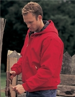 Men's Tall Sizes Heavyweight Cotton Timberline Hooded Jacket