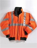 Men's Tall Sizes Heavyweight Protective Jacket With 3M Reflective Tape