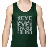 Mens An Eye for an Eye Dry Wicking Tank Top