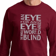Mens An Eye for an Eye Long Sleeve