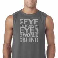 Mens An Eye for an Eye Sleeveless Shirt