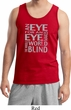 Mens An Eye for an Eye Tank Top