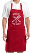 Mens BBQ Apron - King of the Grill Barbecue