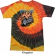 Mens Biker Shirt Built To Last Tie Dye Tee T-shirt