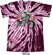 Mens Biker Shirt Eagle Biker Twist Tie Dye Tee T-shirt