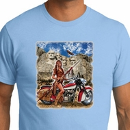 Mens Biker Shirt Sturgis Indian Organic Tee T-Shirt