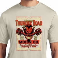 Mens Biker Shirt Thunder Road Moisture Wicking Tee
