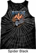 Mens Biker Tanktop Built To Last Tie Dye Tank Top