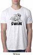 Mens Black Penguin Power Swim Burnout Shirt