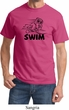 Mens Black Penguin Power Swim T-shirt