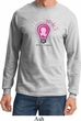Mens Breast Cancer Awareness Shirt Think Pink Long Sleeve Tee