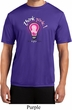 Mens Breast Cancer Awareness Shirt Think Pink Moisture Wicking Tee