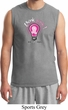 Mens Breast Cancer Awareness Shirt Think Pink Muscle Tee T-Shirt
