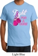 Mens Breast Cancer Shirt Fight For a Cure Organic Tee T-Shirt
