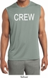 Mens Crew Moisture Wicking Sleeveless Shirt