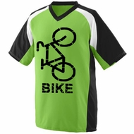 Mens Cycle Moisture-Wicking Performance Bike Shirt