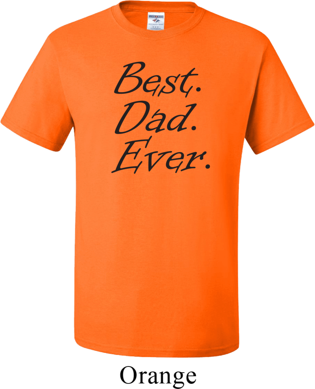 Mens Dad Shirt Best Dad Ever Black Print Tall Tee T Shirt