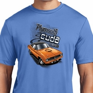 Mens Dodge 1970 Plymouth Hemi Cuda Moisture Wicking Shirt