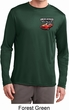 Mens Dodge American Made Muscle Pocket Print Dry Wicking Long Sleeve