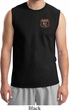 Mens Dodge Garage Pocket Print Muscle Shirt