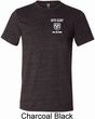 Mens Dodge Guts and Glory Ram Pocket Print Tri Blend Crewneck Shirt