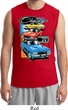 Mens Dodge Shirt Challenger Trio Muscle Tee T-Shirt