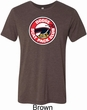 Mens Dodge Shirt Dodge Scat Pack Club Tri Blend Crewneck Tee T-Shirt