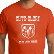 Mens Dodge Shirt Guts and Glory Ram Logo Organic Tee T-Shirt