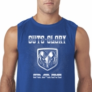 Mens Dodge Shirt Guts and Glory Ram Logo Sleeveless Tee T-Shirt