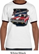 Mens Dodge Shirt Plymouth Roadrunner Ringer Tee T-Shirt