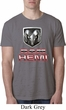 Mens Dodge Shirt Ram Hemi Logo Burnout Tee T-Shirt