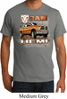 Mens Dodge Shirt Ram Hemi Trucks Organic Tee T-Shirt