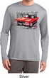 Mens Dodge Shirt Red Challenger Dry Wicking Long Sleeve Tee T-Shirt
