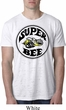 Mens Dodge Shirt Super Bee White Burnout Tee T-Shirt