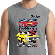 Mens Dodge Shirt Vintage Chargers Muscle Tee T-Shirt