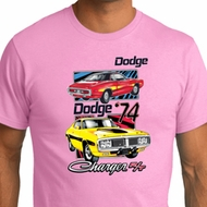 Mens Dodge Shirt Vintage Chargers Organic Tee T-Shirt